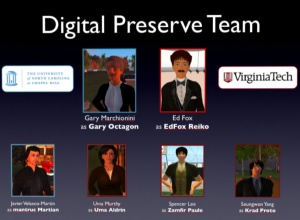 Digital Preserve Team