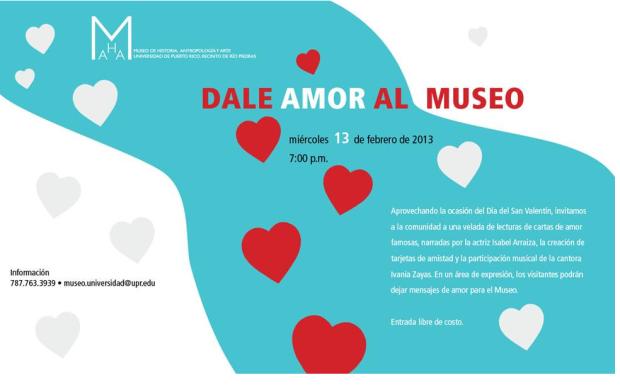 amor a tu museo